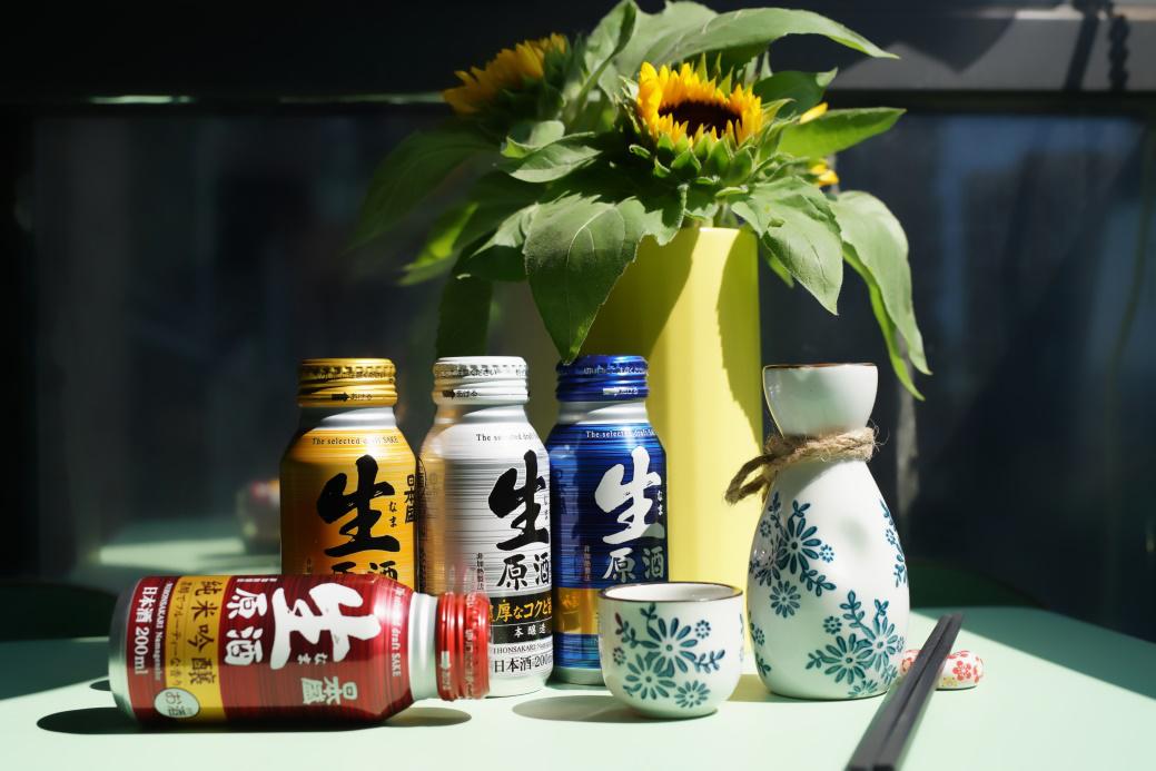 这个春节 来瓶日本盛罐装生原酒尽享阖家欢乐
